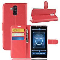 Чехол-книжка Litchie Wallet для Oukitel K6 Красный