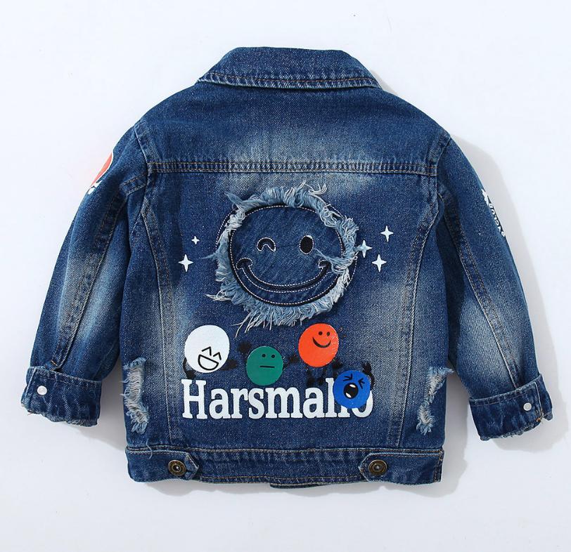 Куртка джинсовая Мордашки