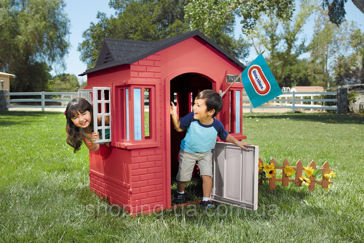 Игровой детский домик Cape Cottage красный Little Tikes 638749M