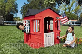 Игровой детский домик Cape Cottage красный Little Tikes 638749M, фото 2