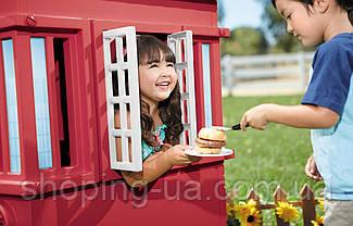 Игровой детский домик Cape Cottage красный Little Tikes 638749M, фото 3