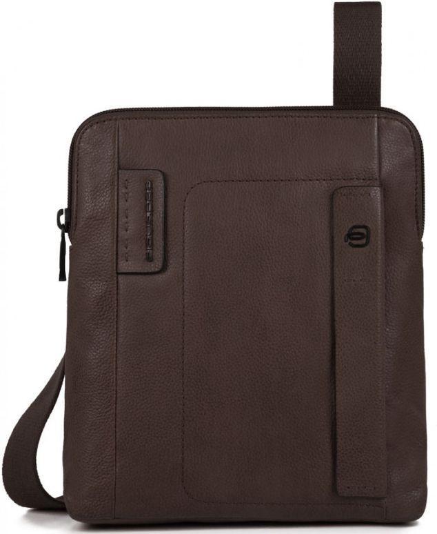 Кожаная мужская сумка Piquadro PULSE CA1358P15S_TM, коричневый