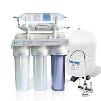 Фильтр с обратным осмосом AquaMarine RO-6 BIO-ACTIV (4 минерала)