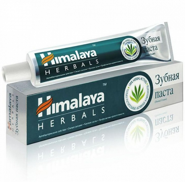Зубная паста без фтора Дентал Крим, Хималая, Dental cream,200 г