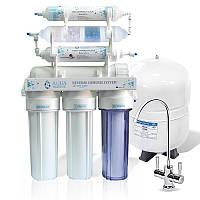 Фильтр с обратным осмосом AquaMarine RO-7 BIO-ACTIV (4 минерала) bio