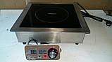 Профессиональная встраиваемая индукционная плита Vektor LS-C01D (3500вт), фото 2