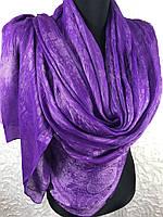 Женский фиолетовый шелковый шарф (цв.05), фото 1