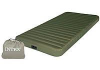 Надувной матрас с электронасосом 12В/USB Intex 68727