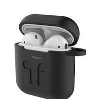 Силиконовый чехол Rock для Apple Airpods