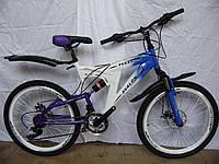 Спортивный двухамортизационный велосипед AVALON Pegas