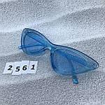 Модные голубые ретро-очки, фото 4