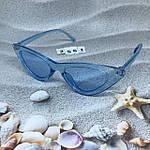Модные голубые ретро-очки, фото 6
