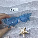 Модные голубые ретро-очки, фото 7