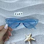 Модные голубые ретро-очки, фото 8