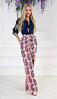 Женский костюм блузка + брюки ап316 (42-46)