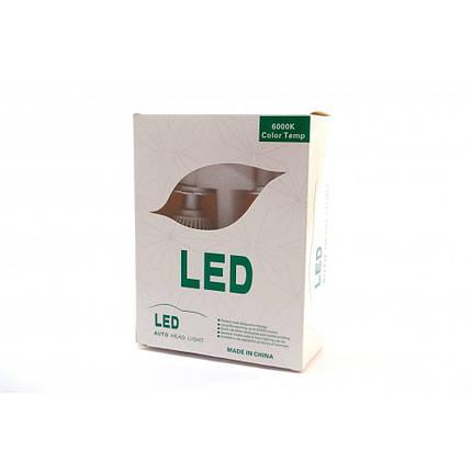 Комплект LED ламп F8 H11(H8/H9/H16) 12-24V COB (радиатор), фото 2