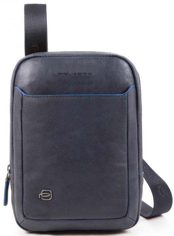 Кожаная сумка Piquadro B2S CA3084B2S_BLU, синий