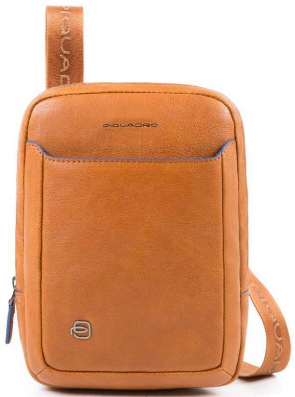 Кожаная сумка Piquadro B2S CA3084B2S_CU, коричневый