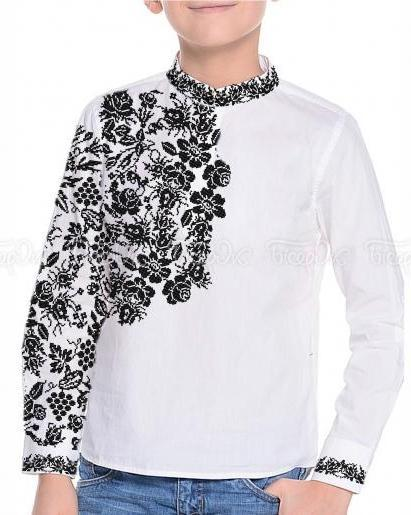96d779a7295160 Купити Дитячі сорочки для вишивки (заготовки) для хлопчиків. Найприємніші  ціни і найкраща якість від