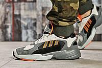 Кроссовки мужские 15518, Adidas Yung 1, серые ( 44  ), фото 1