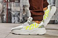 Кроссовки мужские 15521, Adidas Yeezy 700, серые ( 42 43 44 45  ), фото 1