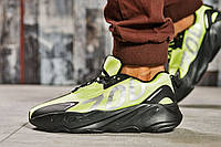 Кроссовки мужские 15524, Adidas Yeezy 700, зеленые ( 41 42 43 44 45  ), фото 1