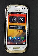 Мобильный телефон Nokia с7-00 Oro Gold rm-675 полностью рабочий
