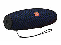 Портативная колонка JBL E12 speakerphone, радио  Синий