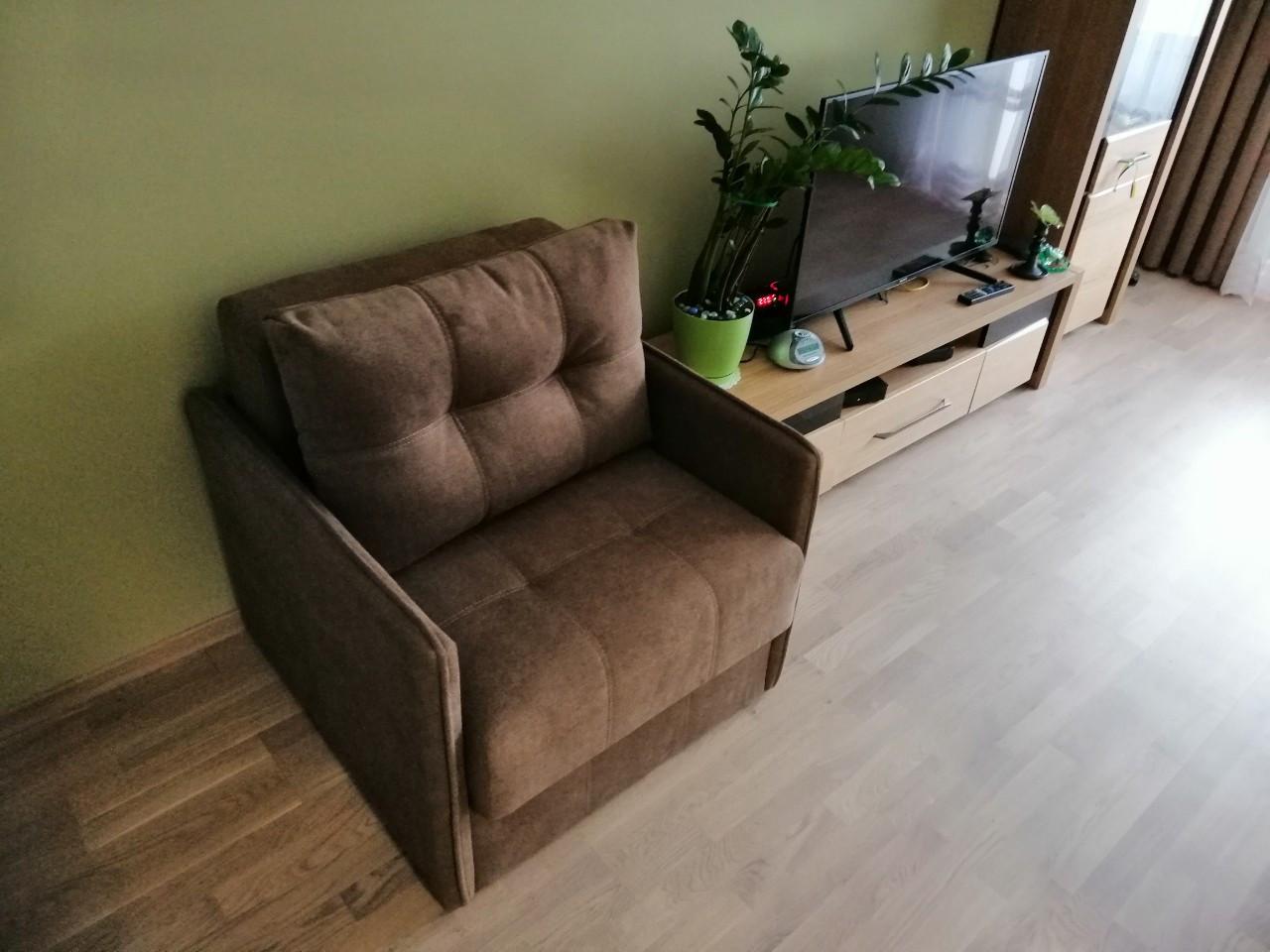 Мягкое раскладное кресло МЕРСИ