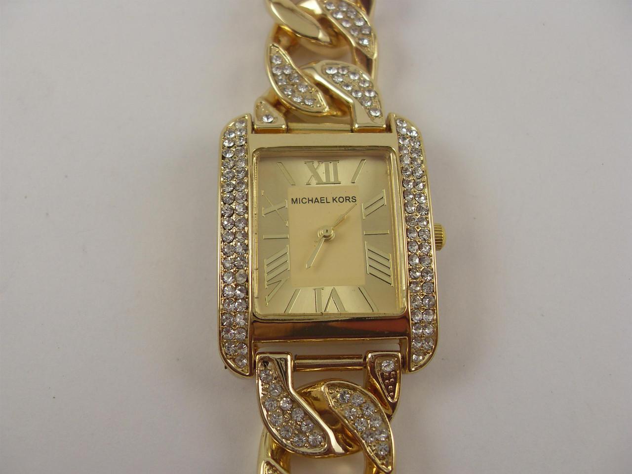 Часы наручные женские Michael Kors MK-1156 белое золото недорого ... c5c4faf4b37
