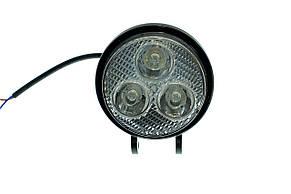 Светодиодная фара AllLight 37 type 9W 3chip EPISTAR spot 9-30V, фото 2