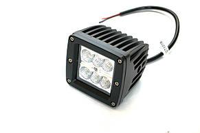 Светодиодная фара AllLight 15type 18W 6chip EPISTAR spot 9-30V, фото 2