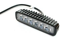 Светодиодная фара AllLight 07type 18W 6chip OSRAM 3535 spot 9-30V, фото 2