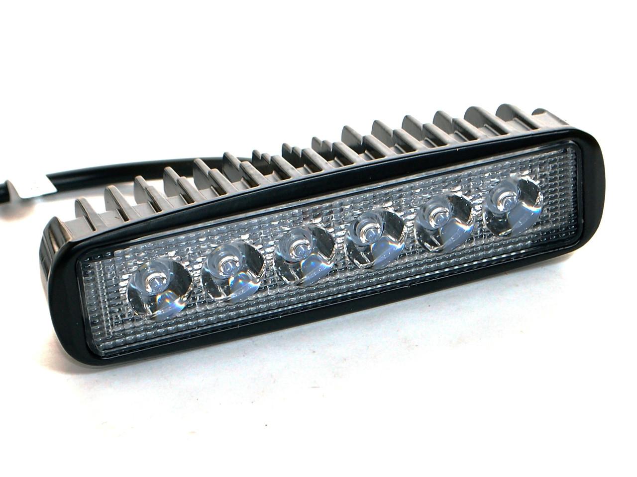Светодиодная фара AllLight 07type 18W 6chip OSRAM 3535 spot 9-30V