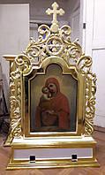 Реставрация старинной выносной иконы