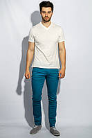 Брюки мужские стильные оттенки 909K001-2 (Бирюзовый)