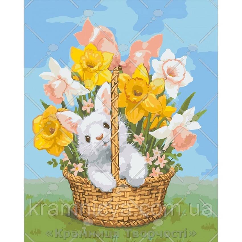 Картины по номерам Весенний подарок, 40х50см. (КНО4112)