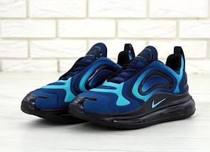 Мужские кроссовки Nike Air Max 720 Blue/Black, фото 3