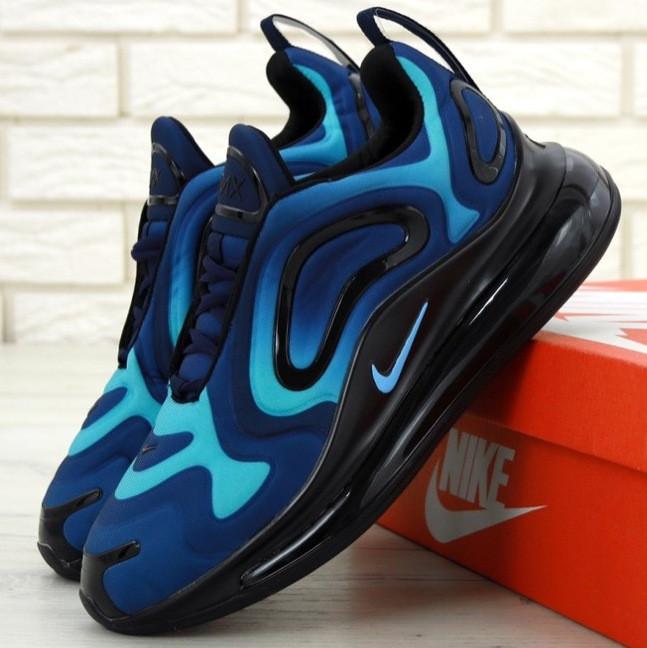 Мужские кроссовки Nike Air Max 720 Blue/Black