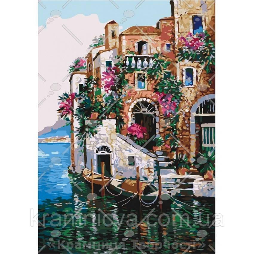 Картина по номерам Цвета Тосканы, 35х50см. (КНО2736)