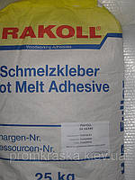 Клей-расплав промышленный Rakoll TE 5707 для ручного кромкования 25 кг.