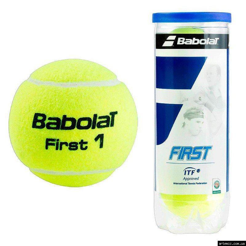 Мяч теннисный Babolat First, 4шт