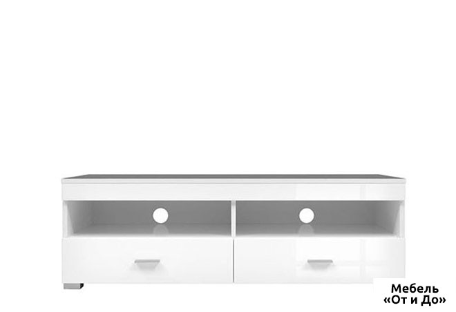 Модульная гостиная Янг / Jang SALE Тумба RTV2S/12 Выставочная (поврежд.крышка, потертые ручки)