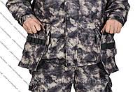 Костюм Атака (серый) от производителя для охоты, рыбалки, туризма, военный, (по оптовым ценам)