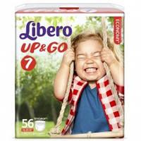 Подгузники-трусики Libero Up&Go 7 XL (16-26 кг) 56 шт. либеро ап енд гоу