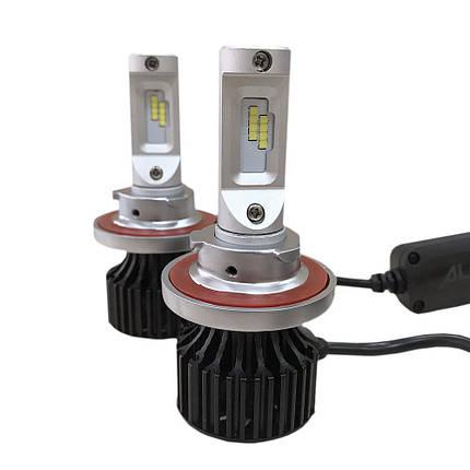 Комплект LED ламп ALed R H13 С07 (ближний+дальний) 24W 6000K 4000lm, фото 2