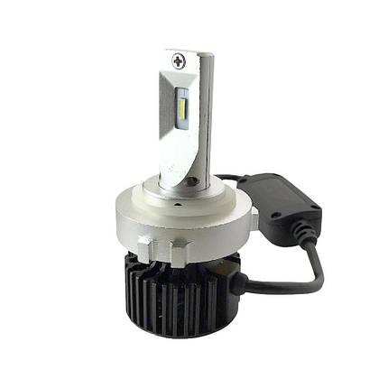 Комплект LED ламп ALed R H7 C07H для автомобилей VW Golf 24W 6000K 4000lm, фото 2