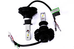 Комплект LED ламп AllLight X3 H1 50W 6000K 6000lm с радиатором , фото 2