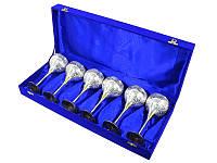Набор фужеров для шампанского в синей коробочке