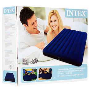 Двуспальный надувной матрас Intex 68759   203х152х22см, фото 2